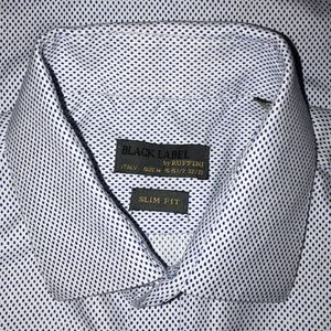 Black Label by Ruffini Italy Dress Shirt 15 32/33